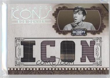 2008 Donruss Americana Celebrity Cuts - Hollywood Icons - Icon Die-Cut Quad Materials [Memorabilia] #HI-BD - Bob Denver /25