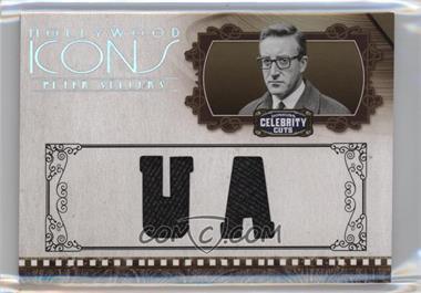 2008 Donruss Americana Celebrity Cuts - Hollywood Icons - Studio Die-Cut Materials [Memorabilia] #HI-PS - Peter Sellers /25