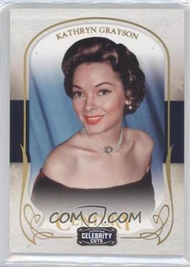 2008 Donruss Americana Celebrity Cuts Century Gold #42 - Kathryn Grayson /25