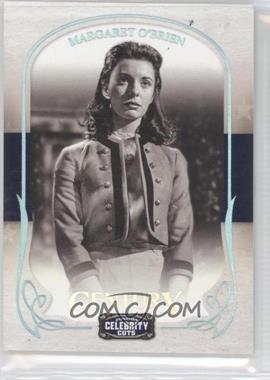 2008 Donruss Americana Celebrity Cuts Century Silver #55 - Margaret O'Brien /50
