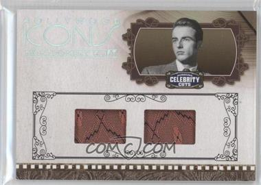 2008 Donruss Americana Celebrity Cuts Hollywood Icons Combo Materials [Memorabilia] #HI-MC - Montgomery Clift /50