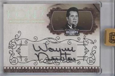 2008 Donruss Americana Celebrity Cuts Hollywood Icons Gold Signatures [Autographed] #HI-WN - Wayne Newton /10
