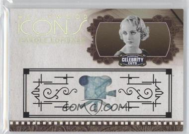 2008 Donruss Americana Celebrity Cuts Hollywood Icons Prime Materials [Memorabilia] #HI-CL - Carole Lombard