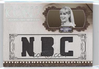 2008 Donruss Americana Celebrity Cuts Hollywood Icons Studio Die-Cut Materials [Memorabilia] #HI-BE - Barbara Eden /25