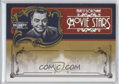2008 Donruss Americana Celebrity Cuts Movie Stars Materials [Memorabilia] #MS-EB - Ernest Borgnine /10