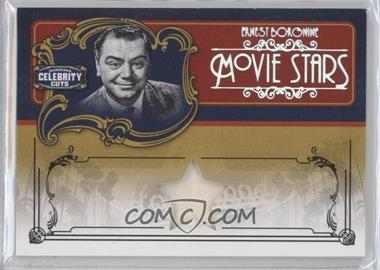 2008 Donruss Americana Celebrity Cuts Movie Stars Materials [Memorabilia] #MS-EB - Ernest Borgnine /10