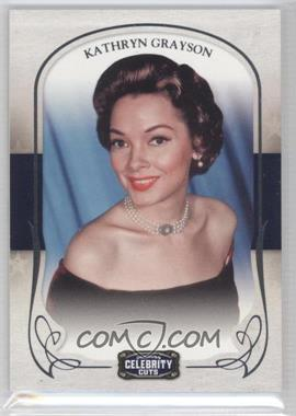 2008 Donruss Americana Celebrity Cuts #42 - Kathryn Grayson /499