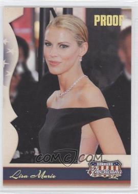 2008 Donruss Americana II - [Base] - Retail Gold Proof #141 - Lisa Marie /250