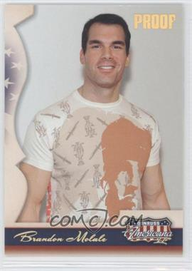 2008 Donruss Americana II - [Base] - Retail Gold Proof #142 - Brandon Molale /250