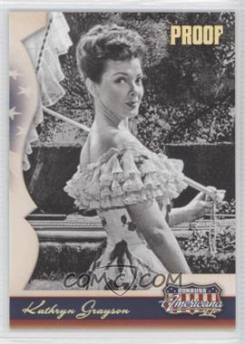 2008 Donruss Americana II - [Base] - Retail Gold Proof #159 - Kathryn Grayson /250