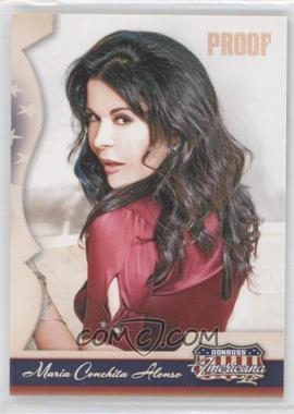 2008 Donruss Americana II - [Base] - Retail Silver Proof #122 - Maria Conchita Alonso /500