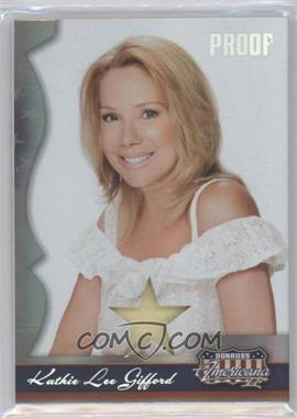 2008 Donruss Americana II - [Base] - Silver Proof Stars Materials [Memorabilia] #191 - Kathie Lee Gifford /100