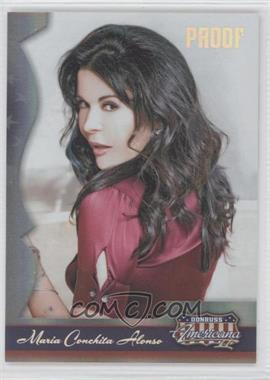 2008 Donruss Americana II - [Base] - Silver Proof #122 - Maria Conchita Alonso /250
