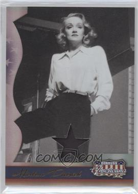 2008 Donruss Americana II - [Base] - Stars Materials [Memorabilia] #234 - Marlene Dietrich /400