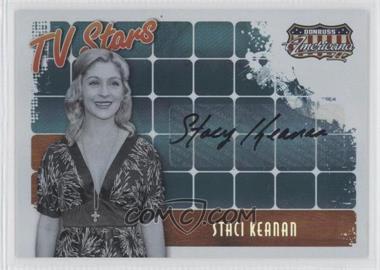 2008 Donruss Americana II - TV Stars - Autographs [Autographed] #TS-SK - Staci Keanan /50