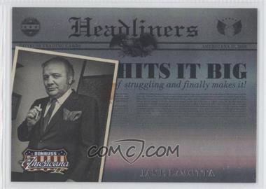 2008 Donruss Americana II Headliners #3 - Jake LaMotta /500