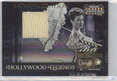2008 Donruss Americana II Hollywood Legends Materials [Memorabilia] #HL-50 - Kathryn Grayson /200