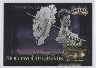 2008 Donruss Americana II Hollywood Legends #HL-50 - Kathryn Grayson /500