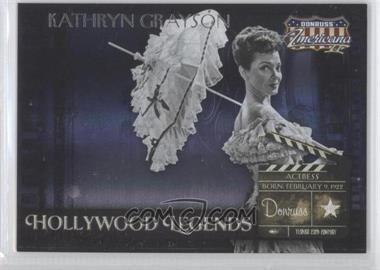 2008 Donruss Americana II Hollywood Legends #HL-50 - Kathryn Grayson /500
