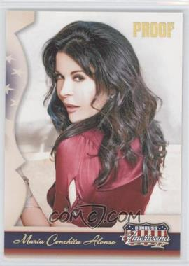 2008 Donruss Americana II Retail Gold Proof #122 - Maria Conchita Alonso /250