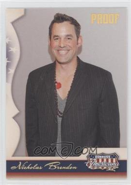 2008 Donruss Americana II Retail Gold Proof #140 - Nicholas Brendon /250