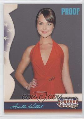 2008 Donruss Americana II Retail Platinum Proof #147 - Arielle Kebbel /100