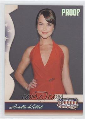 2008 Donruss Americana II Retail Silver Proof #147 - Arielle Kebbel /500