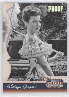 2008 Donruss Americana II Retail Silver Proof #159 - Kathryn Grayson /500