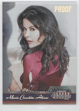 2008 Donruss Americana II Silver Proof #122 - Maria Conchita Alonso /250