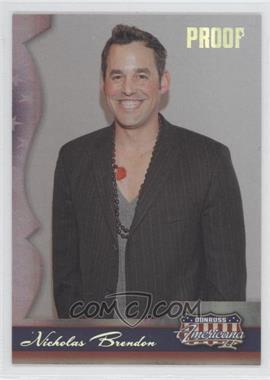 2008 Donruss Americana II Silver Proof #140 - Nicholas Brendon /250