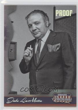 2008 Donruss Americana II Silver Proof #190 - Jake LaMotta /250