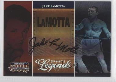 2008 Donruss Americana II Sports Legends Signatures [Autographed] #SL-15 - Jake LaMotta /100