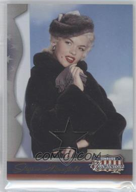 2008 Donruss Americana II Stars Materials [Memorabilia] #206 - Jayne Mansfield /400