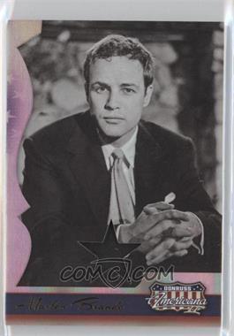 2008 Donruss Americana II Stars Materials [Memorabilia] #228 - Marlon Brando /400