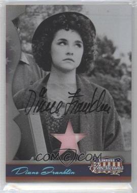 2008 Donruss Americana II Stars Materials Signatures [Autographed] [Memorabilia] #121 - Diane Franklin /250