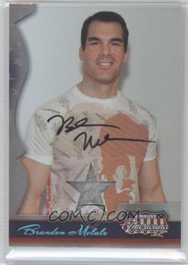2008 Donruss Americana II Stars Materials Signatures [Autographed] [Memorabilia] #142 - Brandon Molale /250
