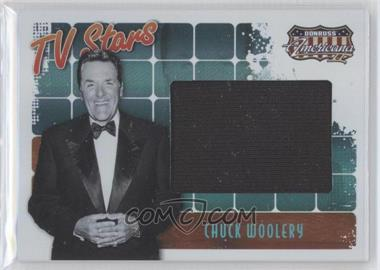 2008 Donruss Americana II TV Stars Big Screen Materials [Memorabilia] #TS-CW - Chuck Woolery /50