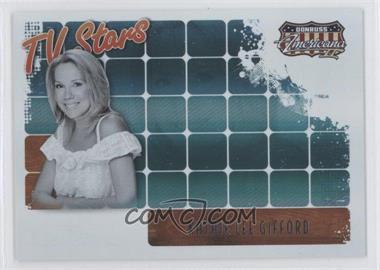 2008 Donruss Americana II TV Stars #TS-KLG - Kathie Lee Gifford /500