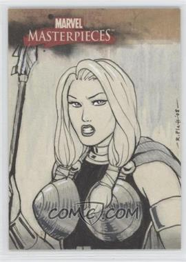 2008 Fleer Marvel Masterpieces Series 2 - Sketch Cards #RPUC - Russell Platt (Unknown Character) /1