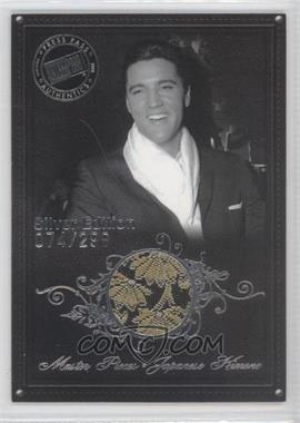 2008 Press Pass Elvis by the Numbers - [???] #MP-1 - Master Pieces: Japanese Kimono /299