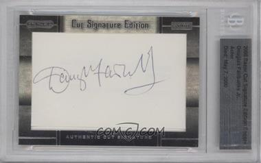 2008 Razor Cut Signature Edition Encore Authentic Cut Signature #N/A - [Missing] [BGS AUTHENTIC]