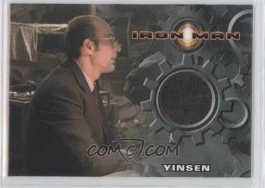 2008 Rittenhouse Iron Man: The Movie Authentic Costume #SHTO - Shaun Toub as Yinsen