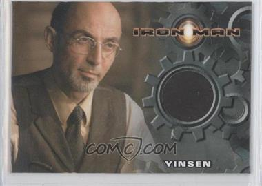 2008 Rittenhouse Iron Man: The Movie Authentic Costume #SHTO - Shaun Toub as Yinsen