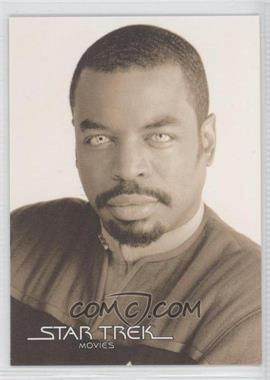 2008 Rittenhouse Star Trek: Movies In Motion - Portraits #POR16 - LeVar Burton as Lt. Commander La Forge