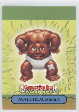 2008 Topps Garbage Pail Kids All-New Series 7 Pop-Ups #10 - Malcolm Middle