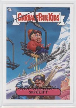 2008 Topps Garbage Pail Kids All-New Series 7 #13b - Ski Cliff