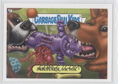 2008 Topps Garbage Pail Kids All-New Series 7 #27b - Michael Victim