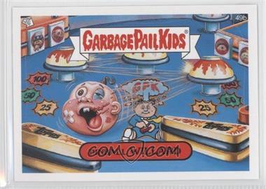 2008 Topps Garbage Pail Kids All-New Series 7 #49b - Pinball Willard