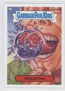 2008 Topps Garbage Pail Kids All-New Series 7 #54a - Molly Pop