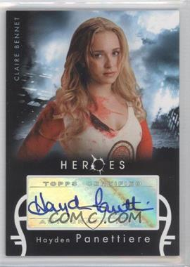 2008 Topps Heroes - Autographs #HPCB - Hayden Panettiere as Claire Bennet